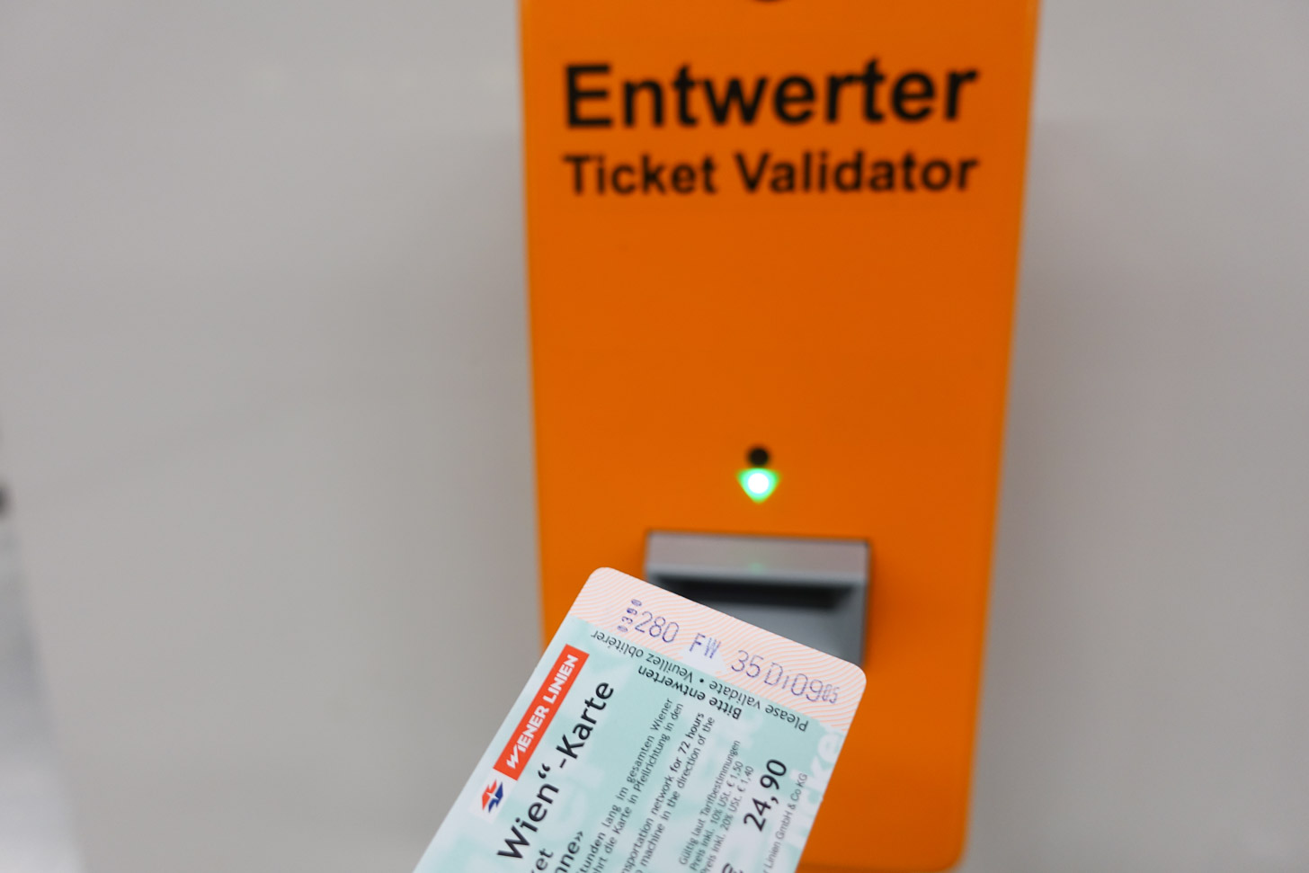 Vervoer van/naar de luchthaven met de Vienna Card
