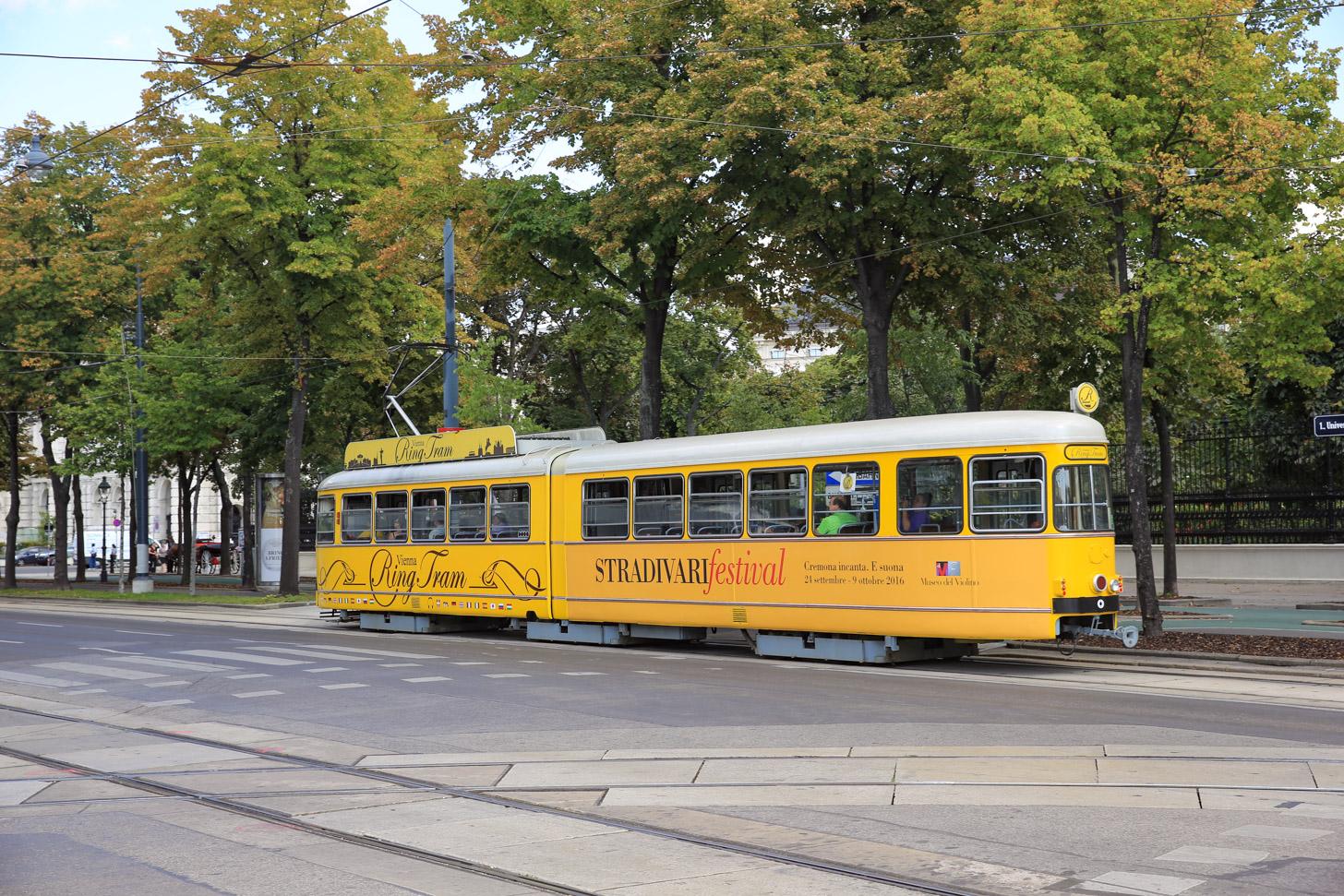 Reizen in Wenen